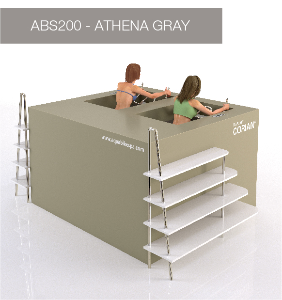 Aqua Bike Spa - Athena Gray