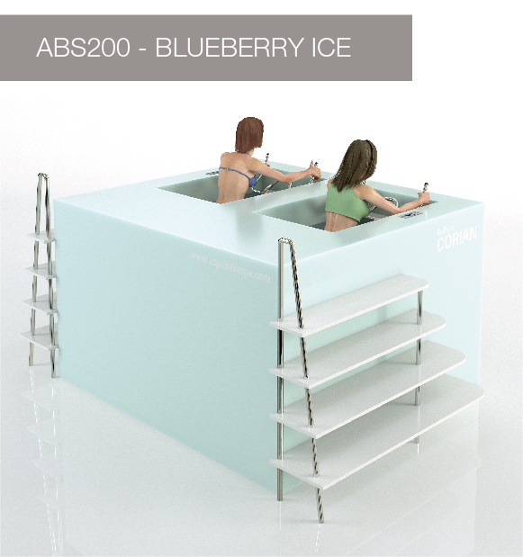 Aqua Bike Spa - BlueBerry Ice