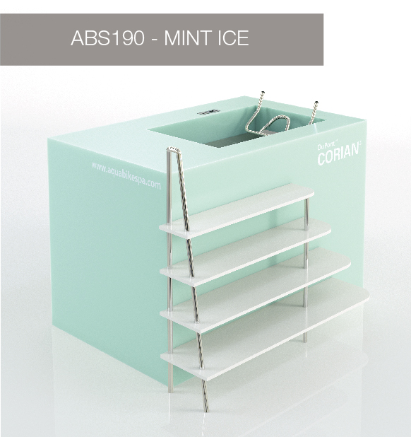 Aqua Bike Spa - Mint Ice
